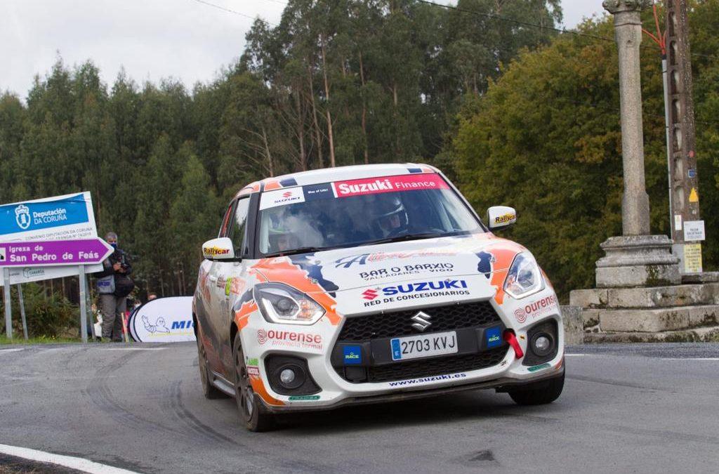 Pablo Pazó gana la Copa Suzuki Swift y Jorge Cagiao se lleva el Renault Clio Trophy Spain en el Rallye Rías Altas