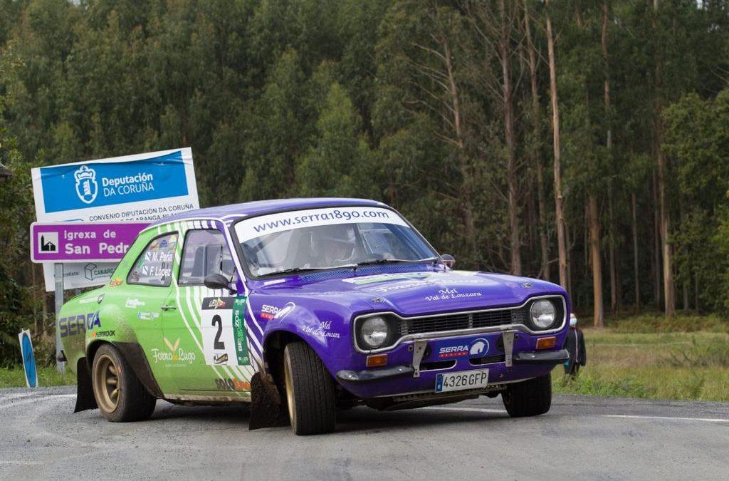 Francisco López y Miguel Peña arrasan en la sexta edición del Rallye Rías Altas